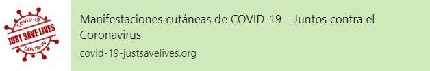 Manifestaciones cutáneas de COVID-19