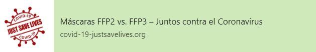 Máscaras FFP2 vs. FFP3