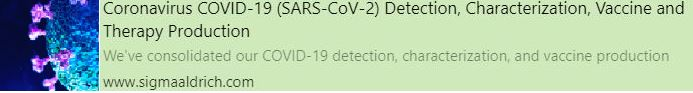 Coronavirus COVID-19 (SARS-CoV-2) Detection, Characterization, Vaccine and Therapy Production